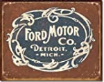 "Ford Historic Logo Metal Tin Sign 16""..."