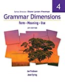Grammar Dimensions 4 with Infotrac: Form, Meaning, and Use (1413027520) by Larsen-Freeman, Diane