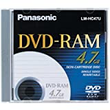 Panasonic LM-HB47LU 4.7GB Single-Sided DVD-RAM Disc