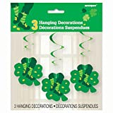 26 Hanging Saint Patrick s Day Jig Decorations, 3ct