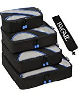 4 Set Packing Cubes,Travel Luggage Packing Organizers with Laundry Bag
