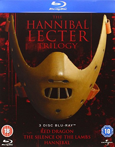 Blu-ray : The Hannibal Lecter Trilogy Blu Ray Set (Region Free) [+Peso($34.00 c/100gr)] (US.ME.9.02-4.17-B003ZDNLCS.0)