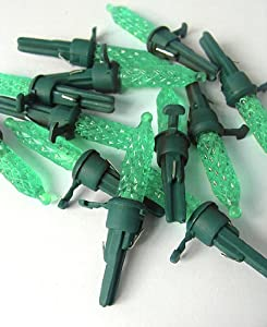 Amazon.com - Pack of 12 Green LED M5 Mini Replacement ...