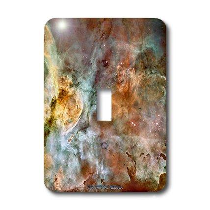 Lsp_76816_1 Sandy Mertens Space Gallery - Galaxy And Nebula - Eta Carinae Nebula By Nasa Hubble Telescope - Light Switch Covers - Single Toggle Switch