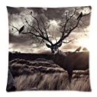 New Home Decorative Cotton Pillowcase Pillow Shams Cushion Cover Deer pillowcase 18x18 twin sides