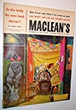 img - for Maclean's - Canada's National Magazine, November 22, 1958 - Royal Winter Fair Cover Illustration and Article book / textbook / text book