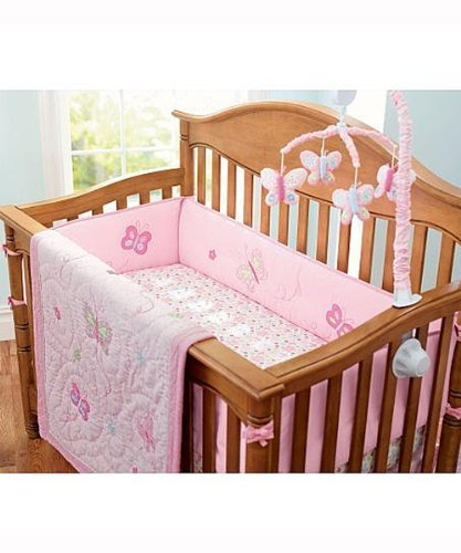 "Babies R Us 7 Piece Crib Bedding Set ""Olivia Collection"""