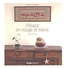 L'Alsace en rouge et blanc