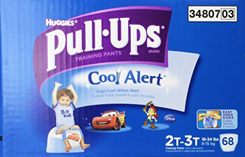 Pull-Ups Training Pants with Cool Alert for Boys, 68 Count (Cool Alert Training Pants compare prices)