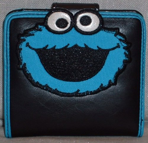 Sesame Street COOKIE MONSTER Character WALLET