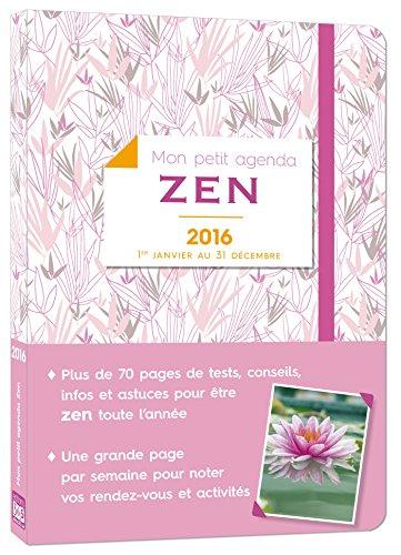 Mon petit agenda Zen 2016