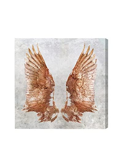Oliver Gal Rose Gold Wings Canvas Art