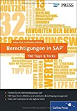Berechtigungen in SAP  100 Tipps & Tricks (SAP PRESS)