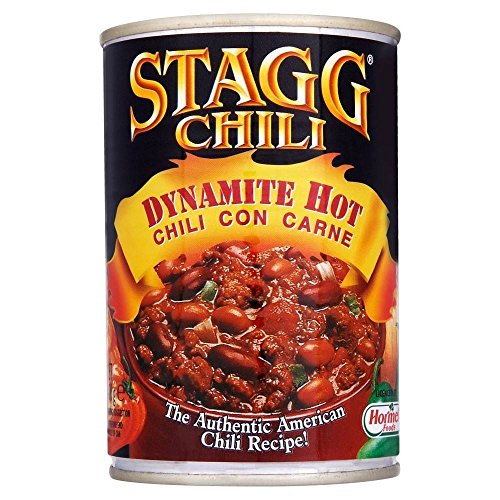 Stagg Chili Con Carne Beef Hot Dynamite (400g) - Packung mit 2