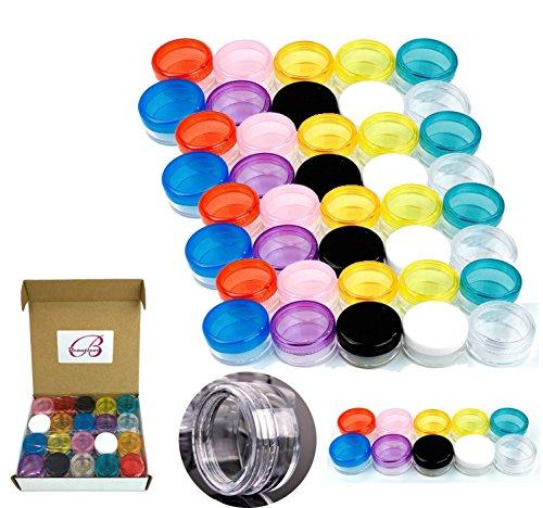Houseables 3 Gram Jar, 3 ML Jar, 50…