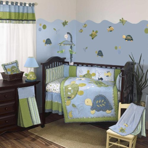 CoCaLo Baby Turtle Reef Eight Piece Set