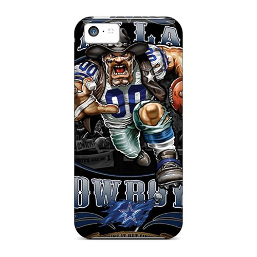 Top Quality Case Cover For Iphone 5C Case With Nice Dallas Cowboys Appearance