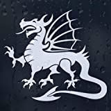 Tribal Dragon Car or Laptop Vinyl Decal (External Fitting) by Auto Accessories
