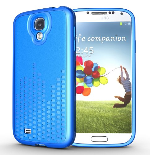 Tudia Ultra Slim Melody Series Tpu Protective Case For Samsung Galaxy S4 I9500 (Blue)