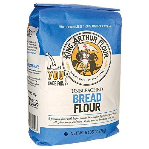 King Arthur Unbleached for MacHine Flour 8x 5lb (King Arthur Bread Machine Flour compare prices)