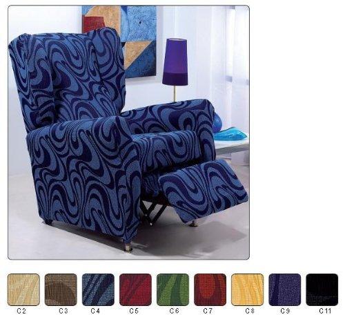 Funda sillon relax elasticas reviews sillon cama for Sillon cama desplegable