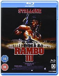 Rambo 3 [Reino Unido] [Blu-ray]