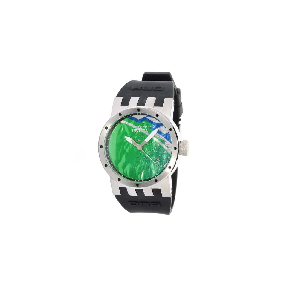 Invicta DNA Recycled Art Green Dial Mens Watch 10430