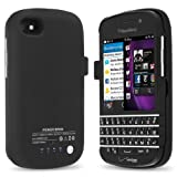 51%2Bks7b6TPL. SL160  Chromo Inc. [Blackberry Q10] Extended Portable Backup Battery Case   3000 mAh
