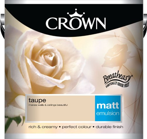 Crown Matt 2.5L Emulsion - Taupe