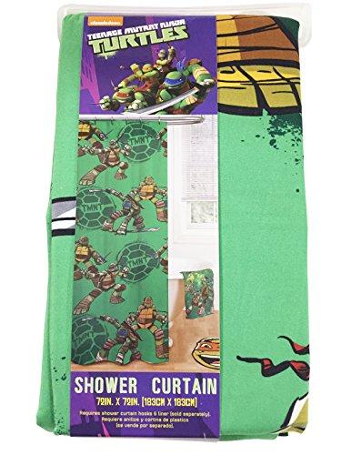 teenage mutant ninja turtle 6pc bathroom accessory set teenage mutant ninja turtle shower curtain bathroom