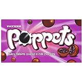 15 x Paynes Poppets Box RAISINS 40g