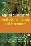 img - for Applied Quantitative Methods for Trading and Investment (The Wiley Finance Series) book / textbook / text book