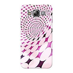 Mobile Back Cover For Samsung Galaxy E5 (Printed Designer Case)