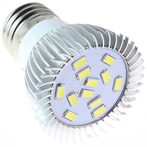 Heinside Energy Saving E27 12 Smd 5630 Led 410Lm 5W Corn Light Lamp Bulb Cover Cool White