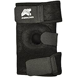 Kamachi Kamachi Knee Support Unisex Running Free Size (Black)