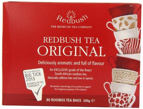 The Redbush Tea Company Original Redbush 80 Teabags (Pack of 3, Total 240 Teabags)
