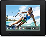 Nixplay 8 inch Wi-Fi Cloud Digital Photo Frame. iPhone & Android App, Email, Facebook, Dropbox, Instagram, Flickr & Picasa – W08A