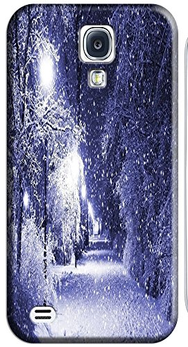 Phones Accessories Beautiful White Snow Tree Vellege Design Cases For Samsung Galaxy S4 I9500 # 3