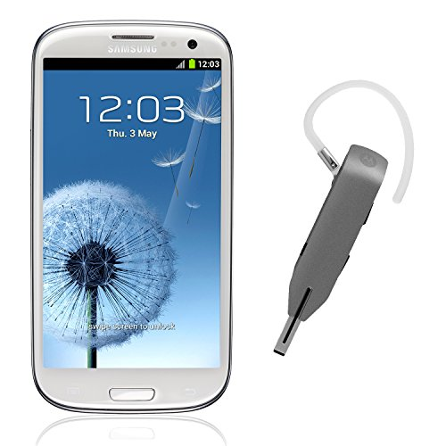 Samsung Galaxy S3 i9300 16GB – Factory Unlocked International Version (White) Bundle with Motorola Whisper Bluetooth Headset Reviews