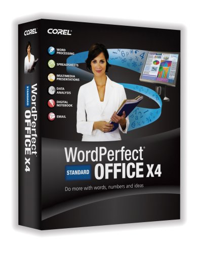 Wordperfect Office X4 Standard Upgrade [Old Version]