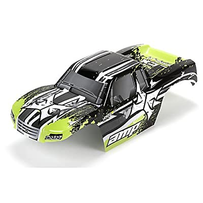 Body, Black/Green: 1:10 AMP MT