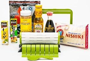 sushiquik complete sushi making starter kit kitchen tool sets kitchen dining. Black Bedroom Furniture Sets. Home Design Ideas
