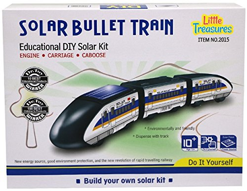 Little Treasures Solar Bullet Train Educational Learning Solar Kit (Toy Bullet Train compare prices)