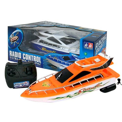 4 Ch Child/Kids High Speed Wireless Remote Control Simulation Speedboat Boats Rc Electric Boats Waterproof Toys#Rcb0001