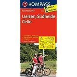 Uelzen - Südheide - Celle: Fahrradkarte. GPS-genau. 1:70000