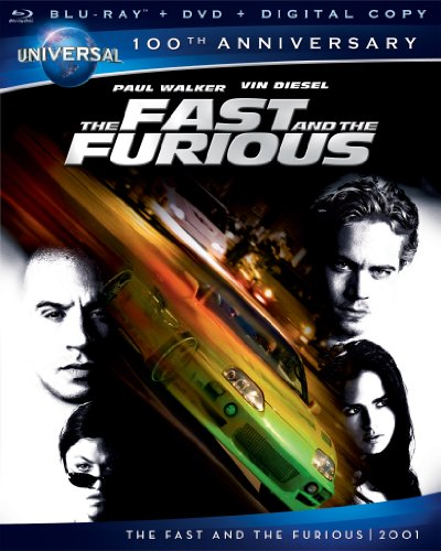 fast and the furious blu ray dvd digital copy universal 39 s 100th anniversary the. Black Bedroom Furniture Sets. Home Design Ideas