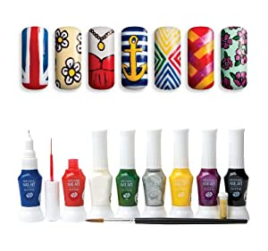 Rio professional nail art kit amazon co uk beauty