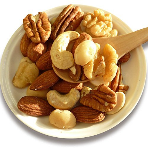 All-Star Nuts 1kg (cashew nuts walnut almond pecan nuts macadamia nuts) salt, no oil use (Famous People Wi compare prices)