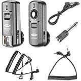 Neewer FC-16 Multi-Channel 2.4GHz 3-IN-1 Wireless Flash/Studio Flash Trigger With Remote Shutter For Canon Rebel...