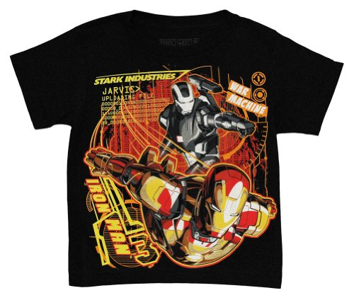Iron N Steel -- Iron Man 3 Movie Juvenile T-Shirt